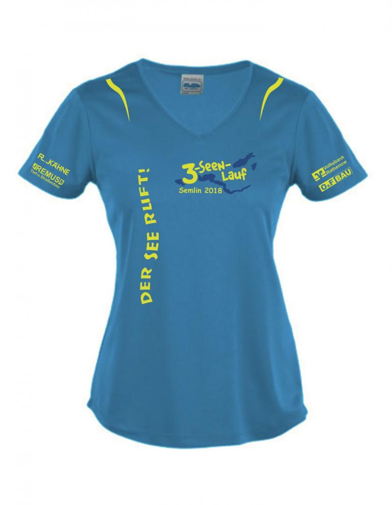 Damen Lauf T-Shirt